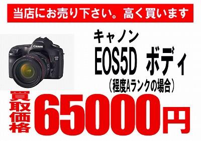 買取EOS 5D0513