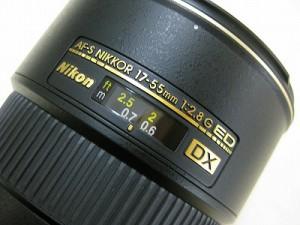 ニコンAF-SDX17-55/2.8GED