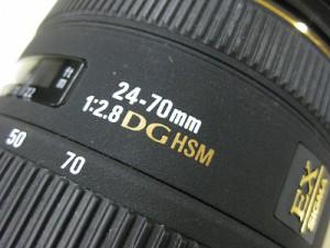 シグマAF24-70/2.8EXDG HSM ペンタックス用