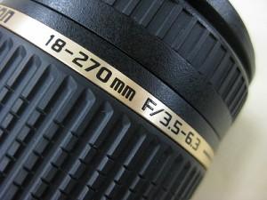タムロン AF18-270/3.5-6.3DiII ニコン用
