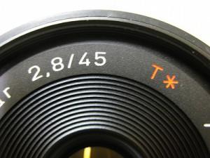 コンタックス T*45/2.8MM