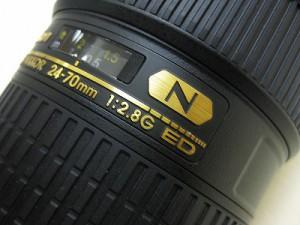 ニコン AF-S24-70/2.8G