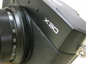 フジフィルム X30 ブラック