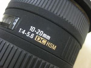 シグマAF10-20/4-5.6EXDCHSMニコン用