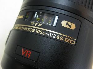 ニコン AF-Sマイクロ105/2.8GEDVR