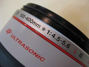 キヤノン EF100-400/4.5-5.6LIS