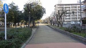 大野川歩行者専用道