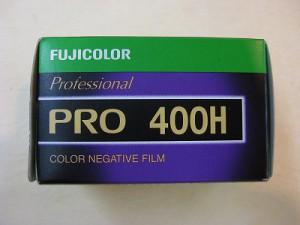 フジフィルム PRO 400H プロフェッショナル