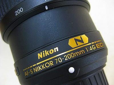 ニコン AF-S70-200/4G ED VR