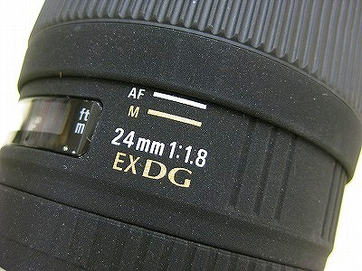 シグマ AF24/1.8EXDG マクロ EOS用