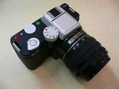 ペンタックス K-01