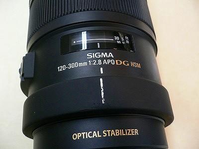 シグマ AF120-300/2.8APODG OS HSM EOS用