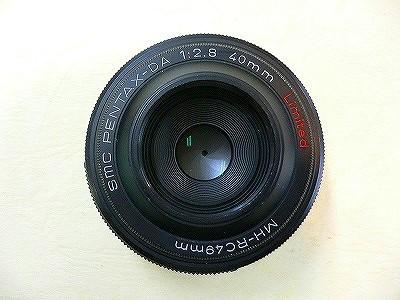 ペンタックス DA40/2.8リミテッド