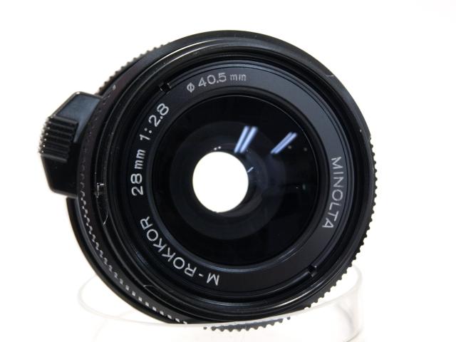 ミノルタ Mロッコール28mmf2.8(CLE)