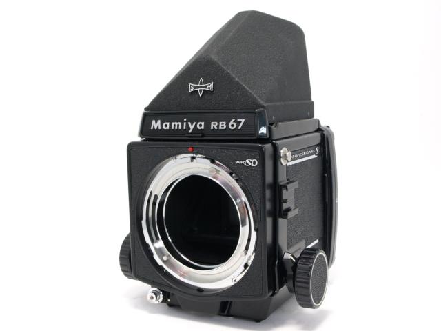 マミヤ RB67PRO SD ボディ+プリズムファインダー