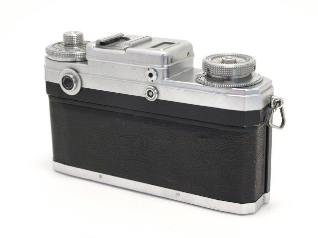 コンタックス IIIa型ブラックダイヤル+50/1.5