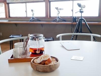 併設のカフェ「HULL」さんの「あめ色りんごのせフレンチトースト」