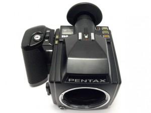 ペンタックス 645 ボディー