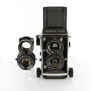 マミヤ C220+80mm+55mm