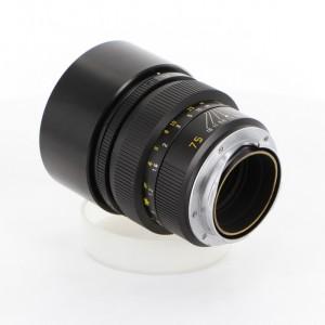 ライカ ズミルックス M75mm F1.4 レンズフード組込