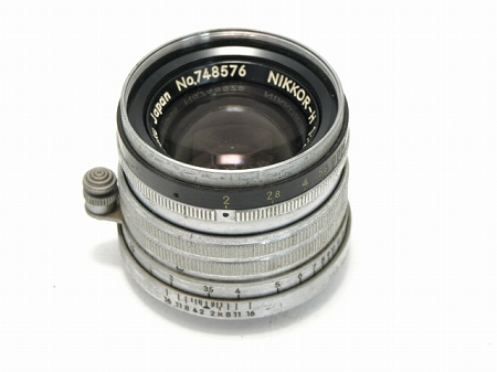 2221000034583aニコン ニッコールH 50mmf2