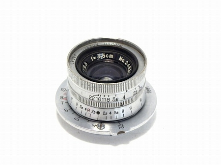 2221000035566aニコン Wニッコール L3、5cm2、5