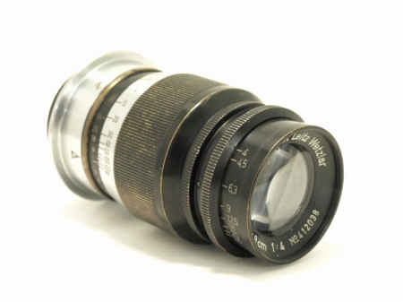 2221150014046aライカ エルマー L90mmf4 ブラック