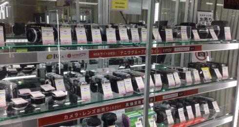 豊富なフイルムカメラ