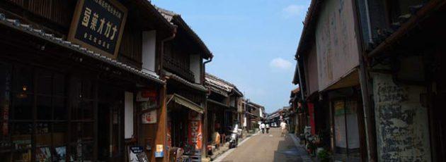 三重県・関宿 通り
