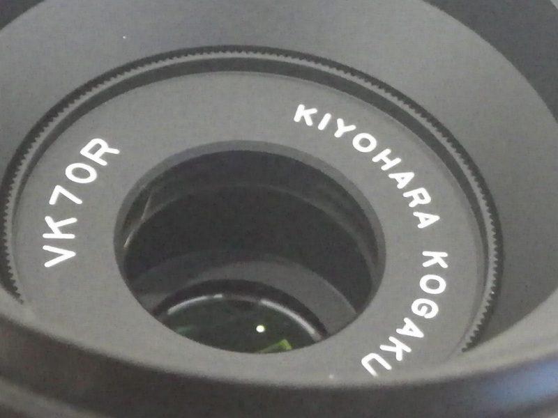 【入荷情報】KIYOHARA KOGAKU VK70R645(ペンタックス645用)