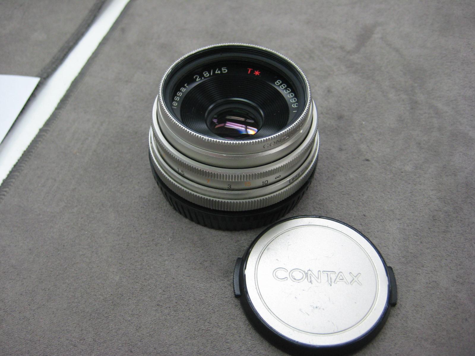 【入荷情報】CONTAX テッサー45mm/F2.8 MMJ 100周年記念【レモン社新宿店】