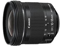 銀座店商品レビュー:Canon EF-S10-18mm F4.5-5.6 IS STM
