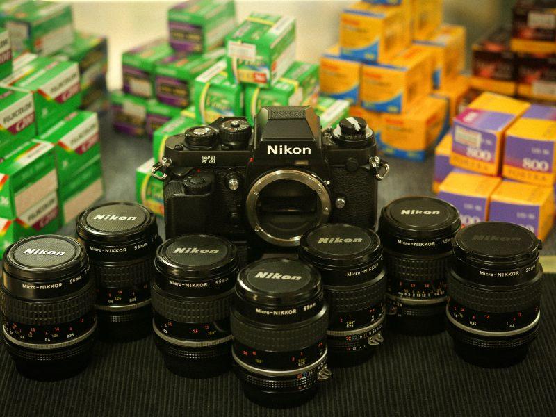Nikon F3 AI-Micro Nikkor 55mm f/2.8S