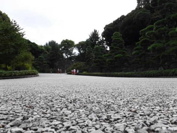 富士見櫓への坂道