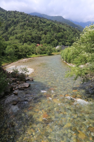 【撮影地情報】 梓川の清流は今も変わらず綺麗だった。「信州上高地」18