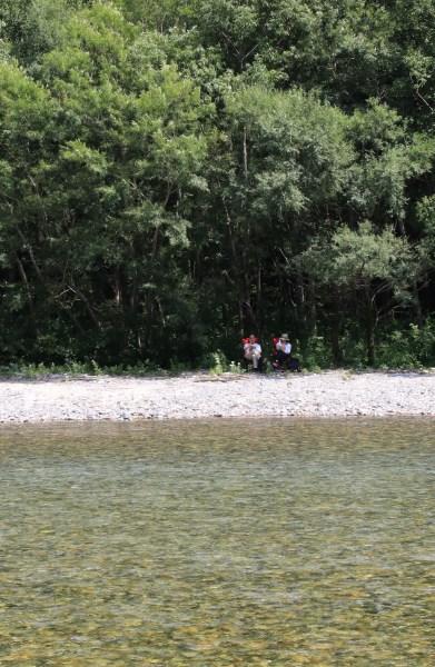 【撮影地情報】 梓川の清流は今も変わらず綺麗だった。「信州上高地」19