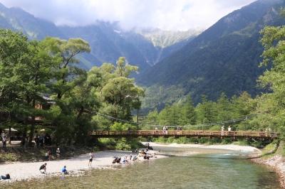 【撮影地情報】 梓川の清流は今も変わらず綺麗だった。「信州上高地」23