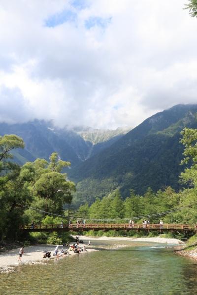 【撮影地情報】 梓川の清流は今も変わらず綺麗だった。「信州上高地」24