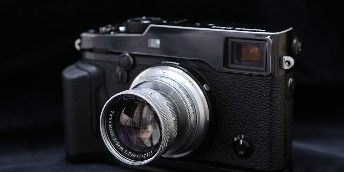 X-Pro2 Summicron 50mm F2 沈胴