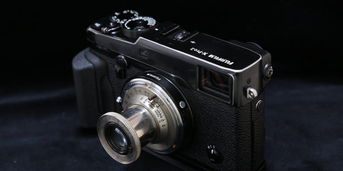 X-Pro2 Elmar 5cm F3.5 ニッケルエルマー