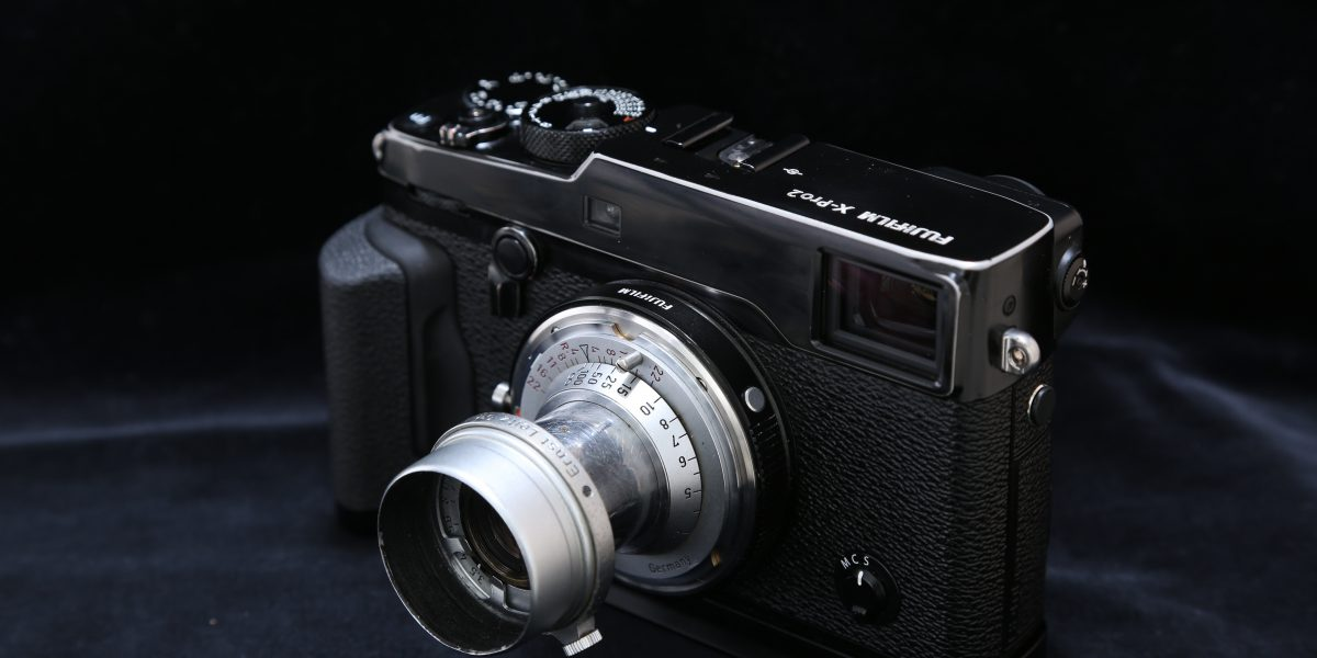 X-Pro2 Elmar 5cm F3.5 赤エルマー