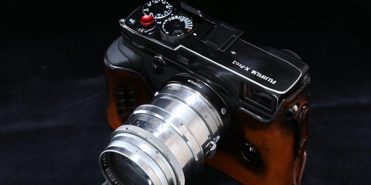 X-Pro2 Contax Sonnar 8.5cm F2