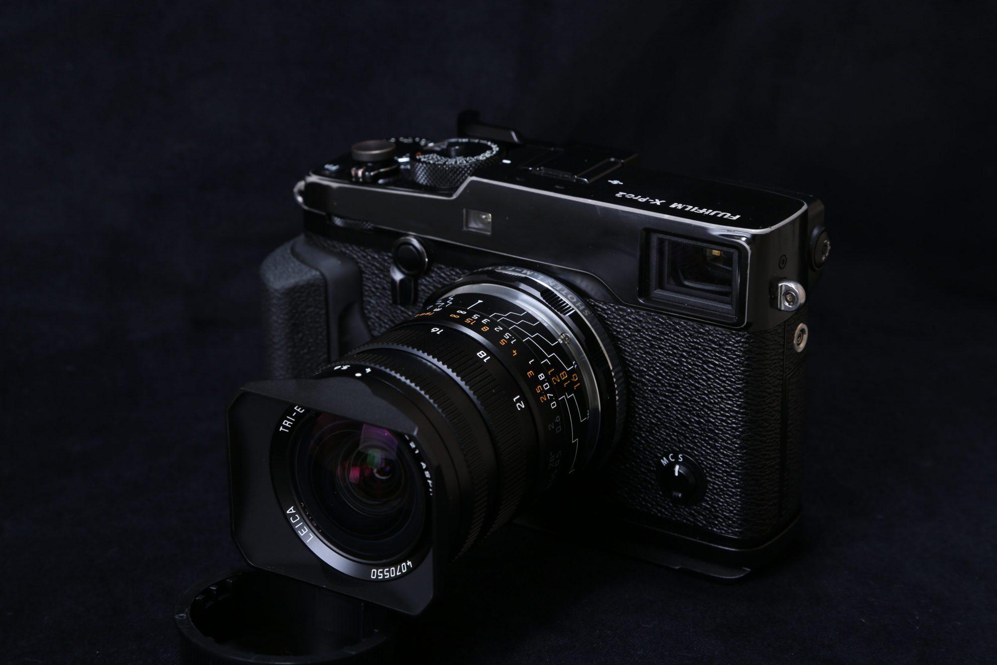X-Pro2 TRI-ELMAR-M 16-18-21 F4 ASPH