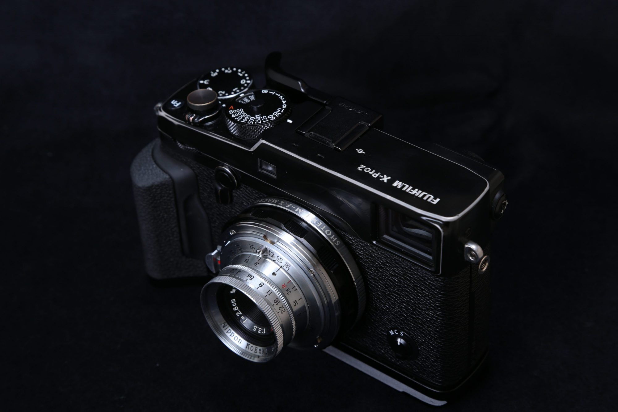 X-Pro2 W-NIKKOR・C 2.8cm F3.5