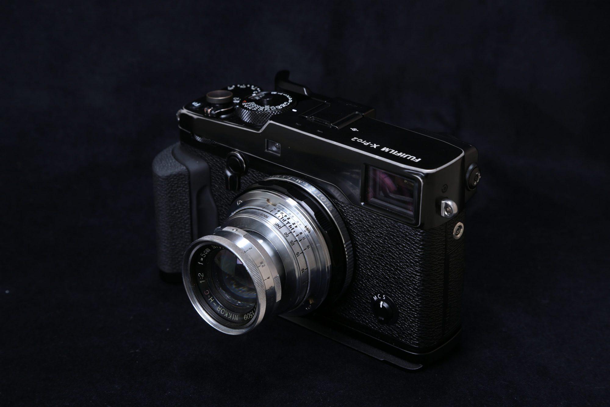 X-Pro2 NIKKOR・C 5cm F2 沈胴