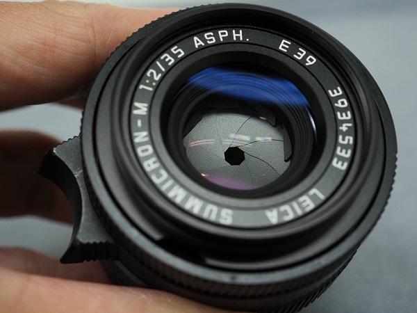 ズミクロン35mmF2ASPH