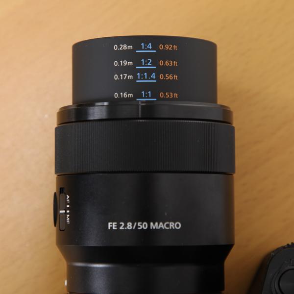 商品レビュー:ソニー FE50/2.8Macro(SEL50M28)