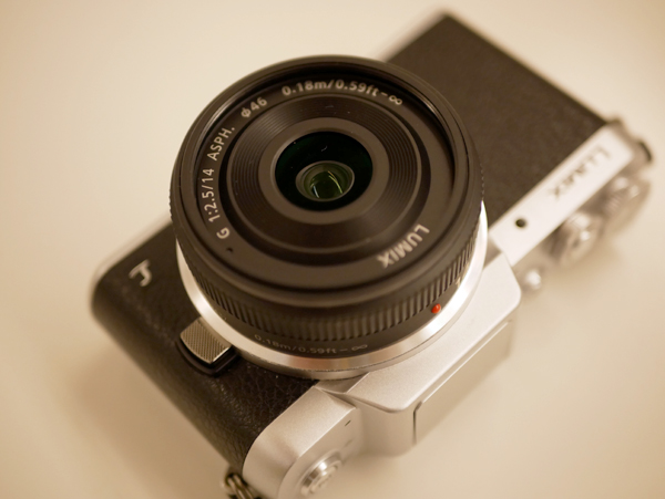 【入荷案内】パナソニック LUMIX G 14mm/F2.5 ASPH. H-H014