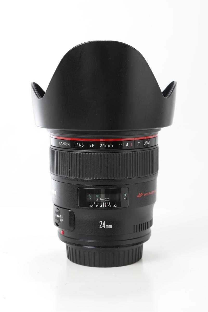 【レモン社銀座店:中古レンズ入荷案内】Canon EF24/F1.4L(2) USM 単焦点レンズ 広角