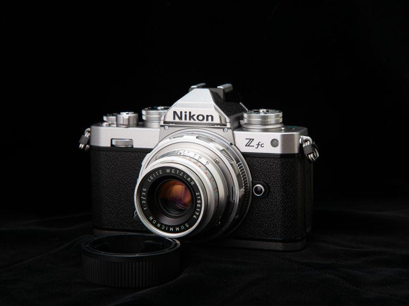 Nikon Z fc+ズミクロン M35mm F2 (8枚玉) (1)